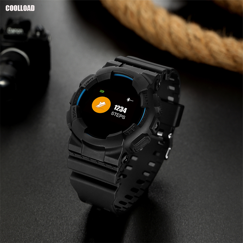 Coolload Smart Watch Support Bluetooth Carmera IP68 Waterproof Fitness Tracker Support Android IOS Smartwatch For Phone