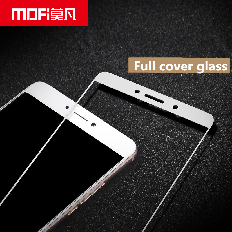 Huawei honor 6x glass tempered MOFi Mate 9 Lite screen protector film full cover white black protection Huawei GR5 2017 glass
