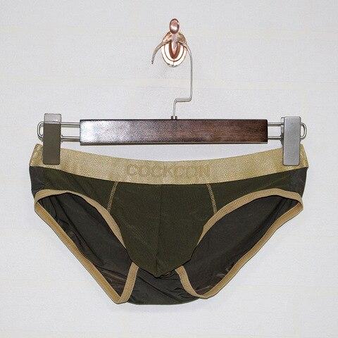 COCKCON Sexy Gay Underwear Men Briefs Shorts homme Breathable Low-waist Panties Man Transparent Mesh Gauze Lingerie cueca M-XXL Multan