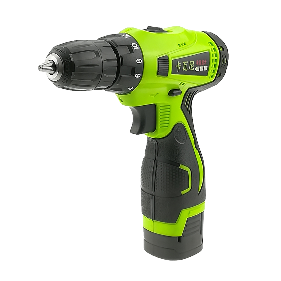 16 8V Electric Drill Double Speed Lithium Cordless Drill Household Multi function Electric Screwdriver Power Tools