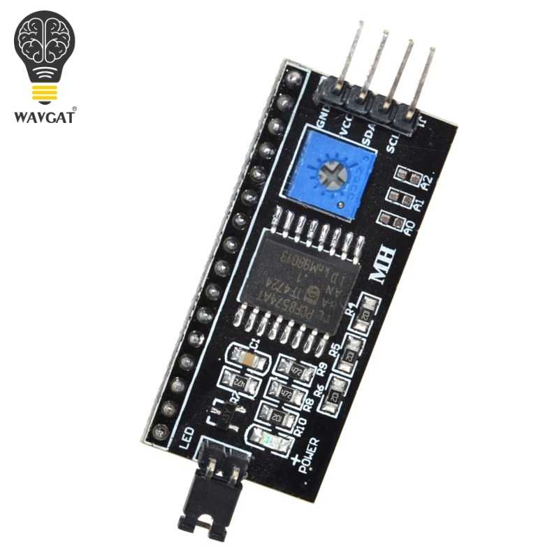 IIC/I2C / Interface LCD1602 2004 LCD Adapter Plate for Arduino WAVGAT
