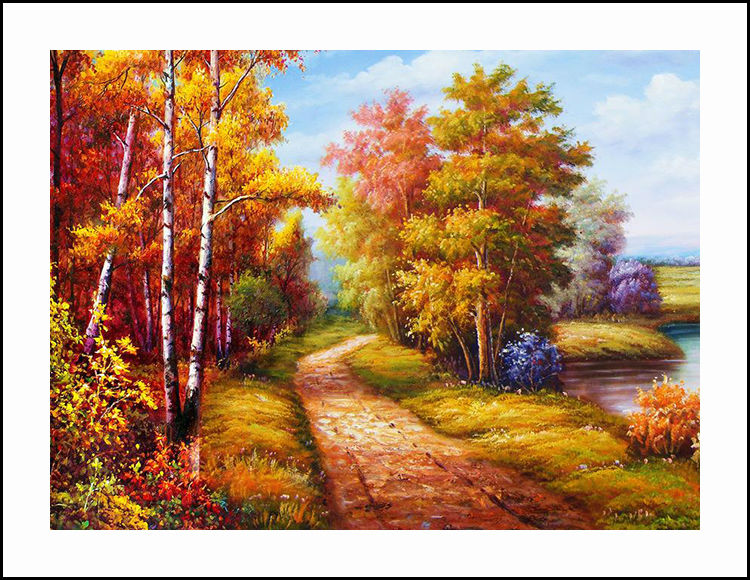 Country-Road-Diamond-Embroidery-5D-Paint