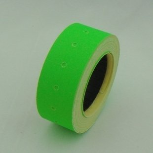10 Rolls Green color Price Tags for MX-5500 GUNS REFILL Free Shipping