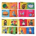 1 Pc Boys Girls Soft Quit Activity Cloth Books Newborn Infant Rustle Sound Educational Stroller Rattle Bed Kids Toys 0-12 Month