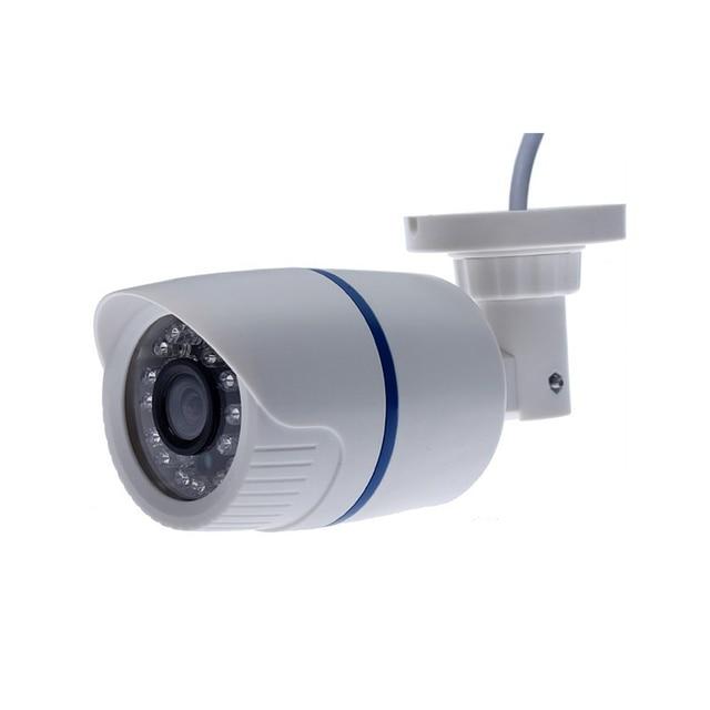 H.264 FULL HD 1080P  IP Camera HI3518E Plastic Outdoor Camera 1080P DC 12V