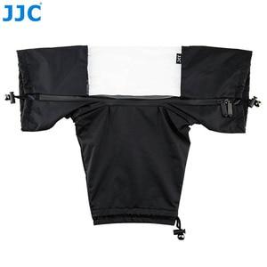 Image 3 - Jjc كاميرا 150x112x75 ملليمتر أسود التمويه الرمادي حامي eos slr صغير للماء غطاء المطر لنيكون d90 caono 7d