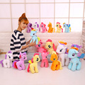 newest minecraft my cute lovely little horse toy Plush toys poni Unicorn doll toys for Children christams gift soft dolls kid