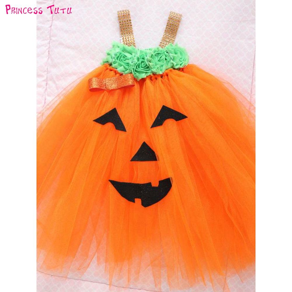 Peuter Halloween.Beste Kopen Schattige Baby Pompoen Kostuum Jurk Up Peuter