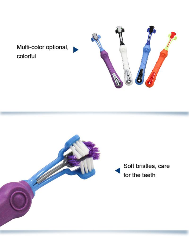 Cepillo de dientes antideslizante para perros 4