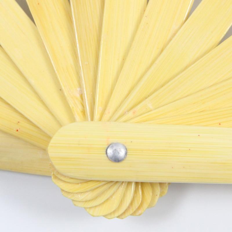 Painted Bamboo Tai Ji Fan 4