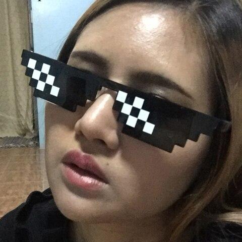 Deal With It Sunglasses Men sunglasses women Minecraft Polygonal Thug Life Shades Masculine  Bits Style Pixe Pakistan