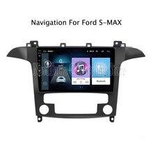 ECTWODVD 9 дюймов Android 8,1 автомобильный Радио gps навигация Мультимедиа Стерео dvd-плеер для Ford S-Max 2007 2008