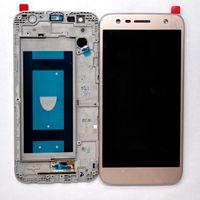 Para LG X Power 2 M320 / X power2  Pantalla LCD + digitalizador táctil  marco de cristal  montaje de repuesto  Pantalla Completa
