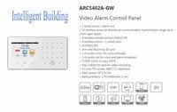 무료 배송 DAHUA 보안 경보 시스템 무선 컨트롤러 비디오 경보 제어 패널 로고 ARC5402A-GW