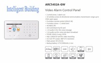 Free Shipping DAHUA Security Alarm System Wireless Controller Video Alarm Control Panel Without Logo ARC5402A GW
