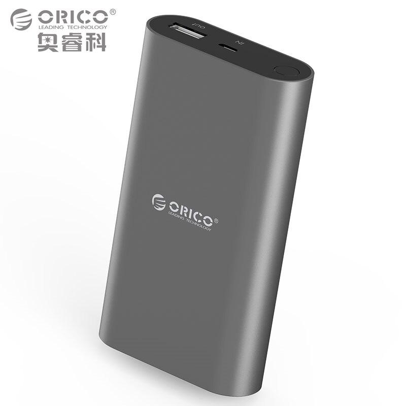 bilder für QC3.0 Energienbank 10050mA LG18650 Hohe Kapazität Universelle Tragbare Schnellladegerät für Fast Smartphones (ORICO QS1)