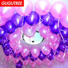 Decorate 100pcs 12inch green pink red orange latex ballon wedding event christmas halloween festival birthday party HY-353