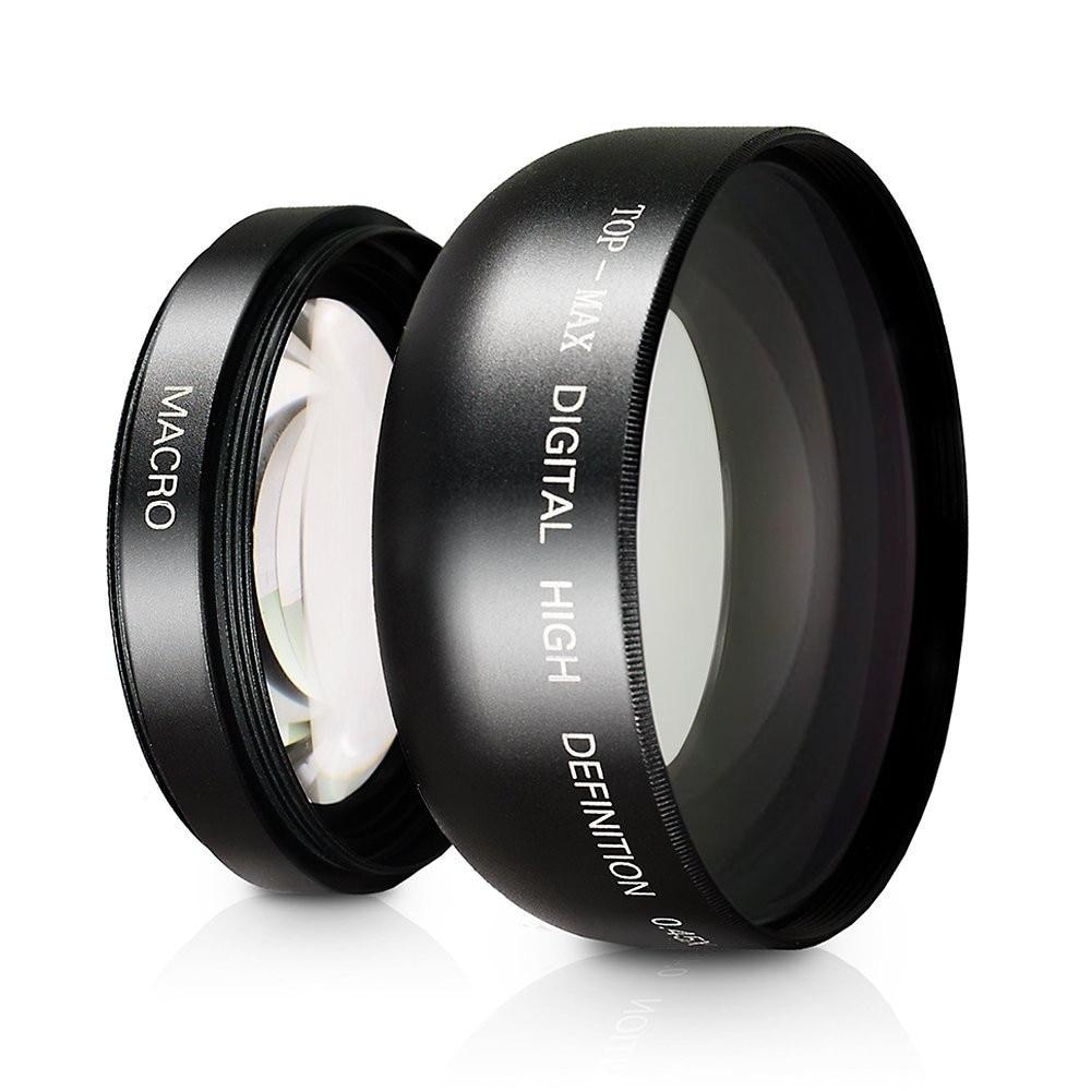 49mm Macro Panasonic HC-VX870 10x High Definition 2 Element Close-Up Lens