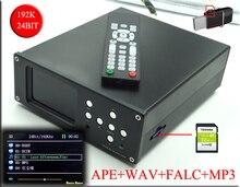 2017 Brise Audio DV20A Numérique audio décodeur AK4495 Platine sans perte musique lecteur Soutien WAV MP3 APE décodage LCD Affichage