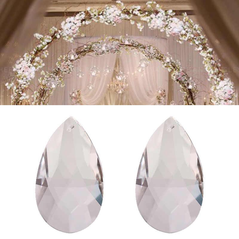 Ангел слезы кулон в форме капли воды 50 мм для кристалл лампы/Свадебные украшения