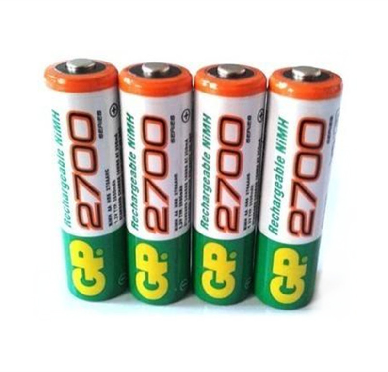 GP AAA Recyko Rechargeable Ni-MH Batteries 850 mAh Card of