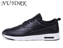 New listing hot sales men PU sports shoes Spring and Autumn Breathable running shoes Y001