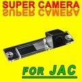 Para sony ccd jac tojoy rs del revés del coche copia de seguridad de coche parking cámara de visión trasera cámara HD luz de la matrícula del coche cam