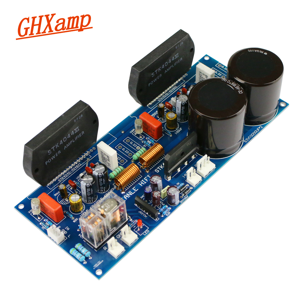 GHXAMP STK4044XI Amplifier Board Thick Film 100W+100W Power Amplifier Audio Board PC1237 Speaker HIFI STK4040XI By SanyoGHXAMP STK4044XI Amplifier Board Thick Film 100W+100W Power Amplifier Audio Board PC1237 Speaker HIFI STK4040XI By Sanyo