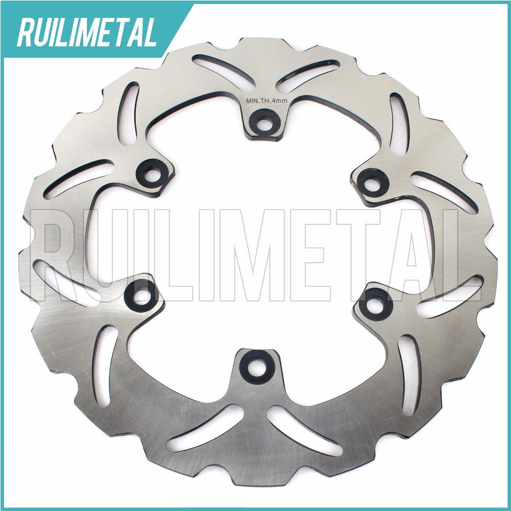 Rear Brake Disc Rotor for DUCATI M MONSTER 600 SS SUPERSPORT 620 double disk single MULTISTRADA SPORT 2003 2004 03 04 rear brake disc rotor for ducati junior ss 350 m monster 400 ss supersport 1992 1993 1994 1995 1996 1997 92 93 94 95 96 97
