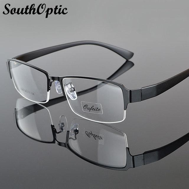 2016 nova Morden aço inoxidável excelente óculos homens 2264 óculos moda óculos prescrição Frame ótico moda