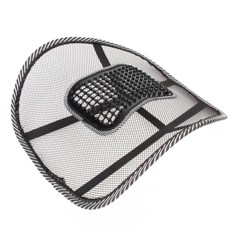 Орындық массажі Back Cushion Pad қара артқы - Автокөліктің ішкі керек-жарақтары - фото 3