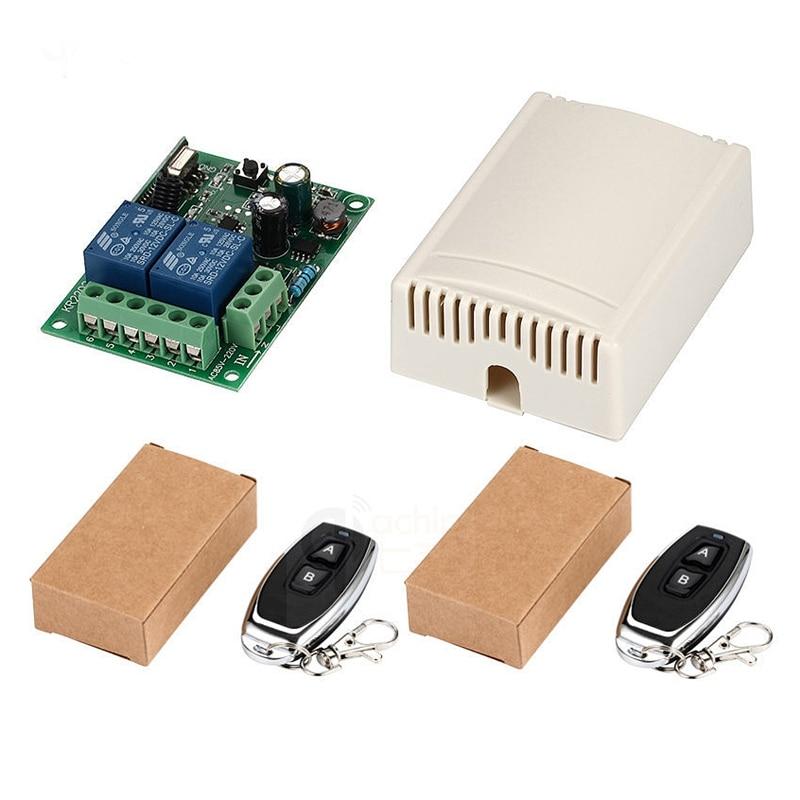 Interruptor De Control Remoto Inalámbrico Universal De 433