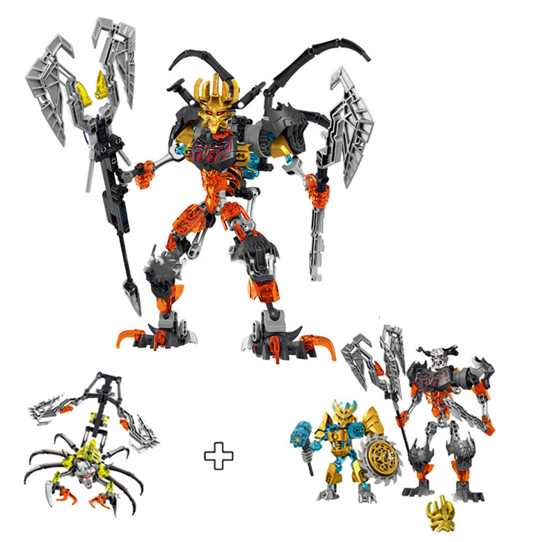 BionicleMask of Light XSZ Children's Skull Slicer Bionicle Building Block toys for children Compatible with Lepin Christmas gift smartable bionicle 191pcs umarak destroyer figures 614 building block toys compatible legoing bionicle lepin gift