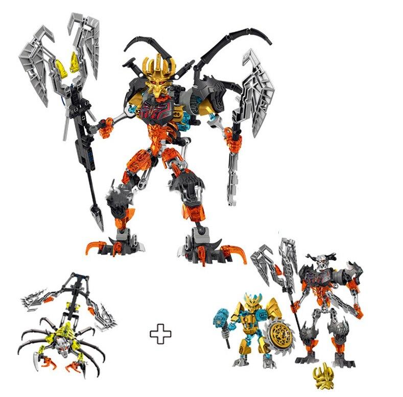 BionicleMask of Light XSZ Children's Skull Slicer Bionicle Building Block toys for children action figure Christmas gift lego bionicle 71309 онуа объединитель земли