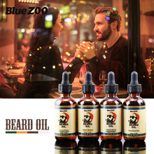 Natural Beard Oil 4 Tastes Beard Wax Balm Hair Loss