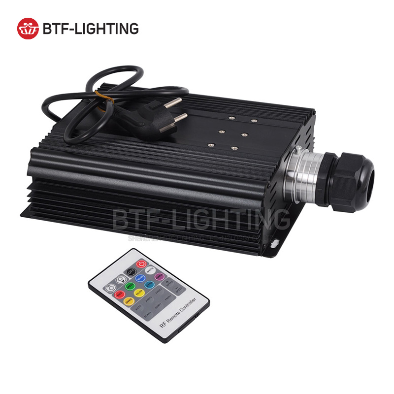 Wholesale 120W RGB LED Fiber Optic Sky Stars Engine Driver for all kinds fiber optics, wholesale rgb 45w led fiber optic engine wifi voice control via app for all kinds fiber optics
