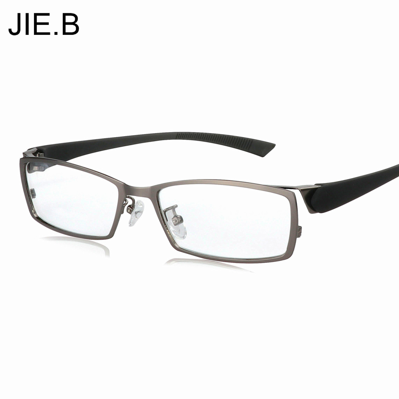 Business Leisure eyeglasses frame Titanium Alloy glasses frame myopia Men eye frame box black Transparent Female Male Oculos