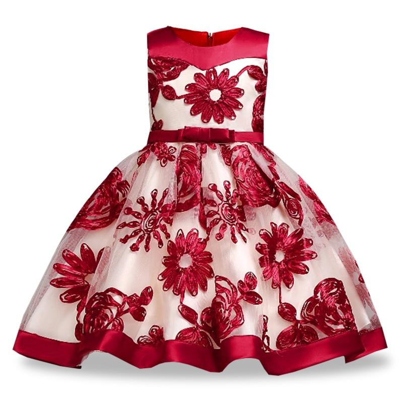 Niños princesa vestido de niña para la boda fiesta de cumpleaños ...