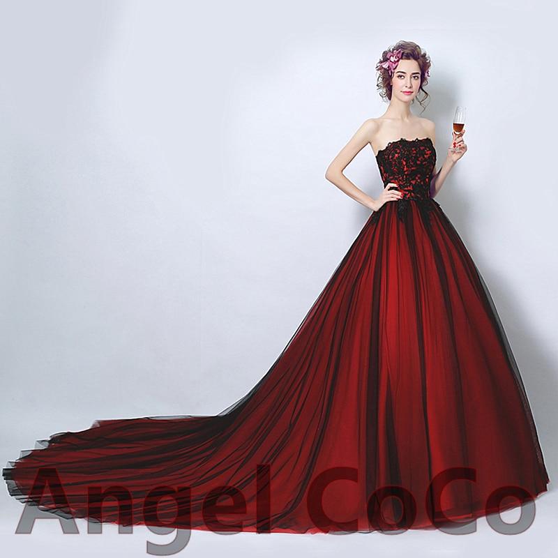 Robe bal de promo robe bal de promo sexy red taffeta flower embroidery bandage prom dress floor - Robe de promo ...