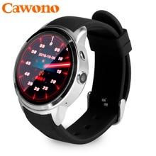 Cawono X200 Wodoodporna Inteligentny Zegarek Bluetooth Android Relógio Smartwatch Telefon 3G WCDMA GPS Wifi Google Playstore Aparat PK KW88