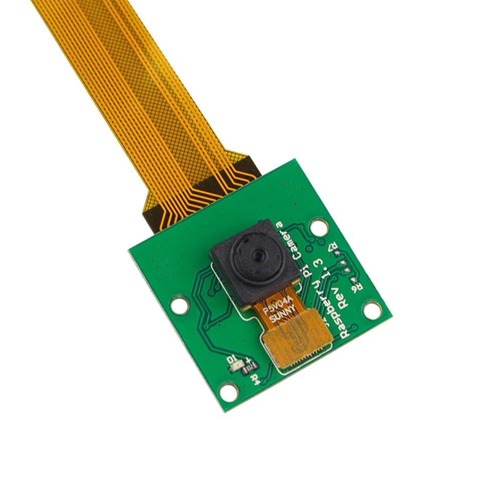 Cewaal 5MP CMOS Camera Module Circuit Board Panel With Cable Line 15CM For Raspberry Pi  ...