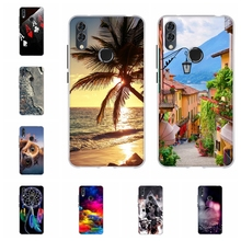 For Alcatel 5V Cover Ultra-thin Soft TPU Silicone 5060D Case 3D Floral Patterned alcatel 5v 5060d Shell Bag