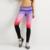 JLZLSHONGLE Nueva Impresión 3D Nubes Estilo Ciudad Impresión Leggings Mujeres 7 Estilos Leggings Deportivos de Fitness Pantalones de Compresión Elástica
