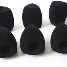 FAST SHIPPING Pile Coating black Interview microphone Windsc