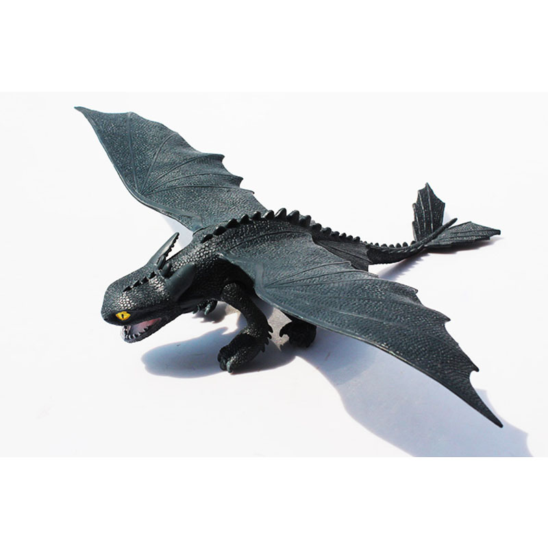 How To Train Your Dragon Toothless Night Fury Action Figure Toys Deadly Nadder Stormfly Hookfang Rumblehorn Anime Kid Toys BN004