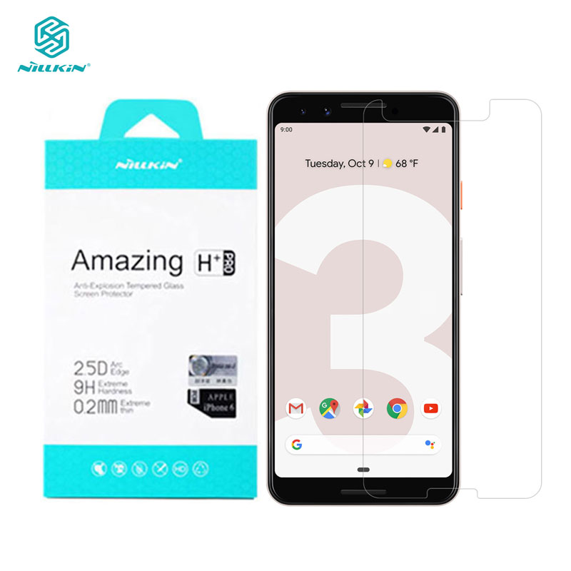 Tempered Glass for Google Pixel 3 XL 3XL 3A XL Nillkin Amazing H+Pro 0.2MM Screen Protector sfor Google Pixel 3 GlassTempered Glass for Google Pixel 3 XL 3XL 3A XL Nillkin Amazing H+Pro 0.2MM Screen Protector sfor Google Pixel 3 Glass