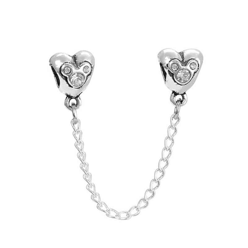 Fit פנדורה קסמי כסף 925 מקורי צמיד תכשיטי האהבה יום מרי פופינס Bijoux Sieraden ויקה חרוזים תכשיטים