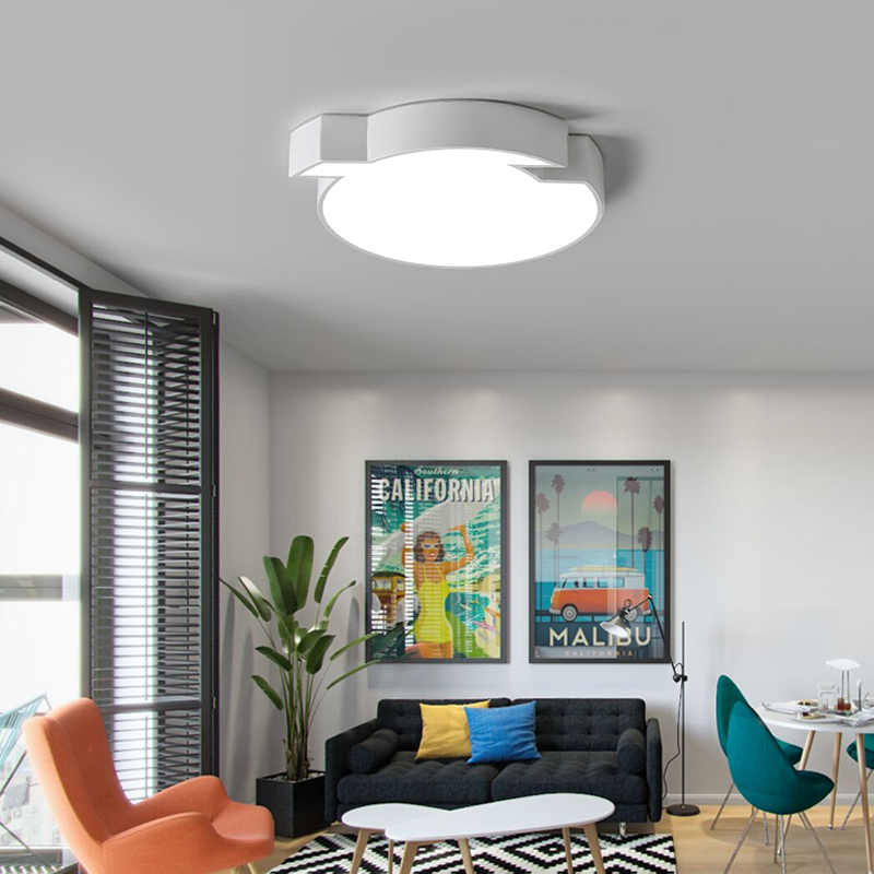 Modern Round structure reflective LED Ceiling Light Indoor LED light Ceiling Lamp creative personality for bedroom living room