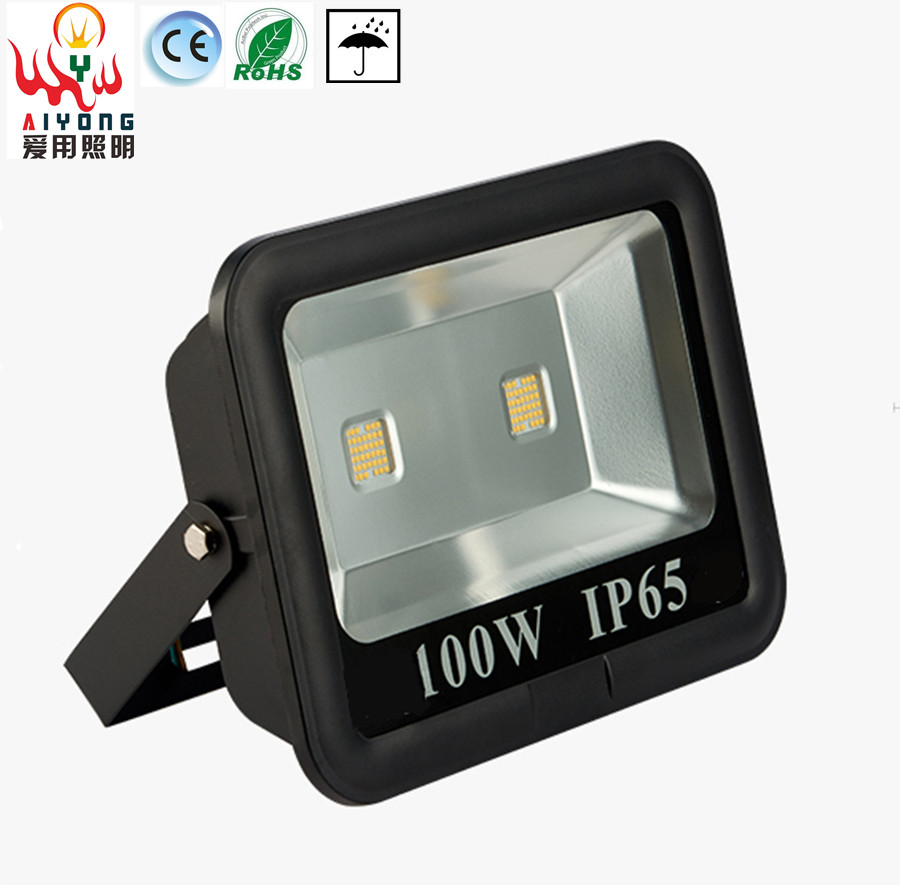 Led floodlight IP65 100W waterproof outdoor advertising signs light landscape building e ...