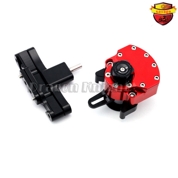 Cbr650f Motocycle Accessories for HONDA CBR 650f 2014-2015 Stabilizer Steering Damper mounting bracket red motocycle accessories for honda cbr400r cbr500r cbr 400r 500r 2013 2015 stabilizer steering damper with mount bracket black